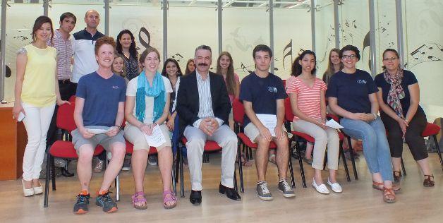 Amerikalı NSLI-Y Öğrencilerinden Türkçe Konser
