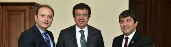 Ekonomi Bakanımız Sayın Zeybekçi ile Bir Araya Geldik