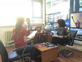 Veli ve Öğrenci Mülakatları Uluslararası Eğitim Ofisimizde Gerçekleştiriliyor