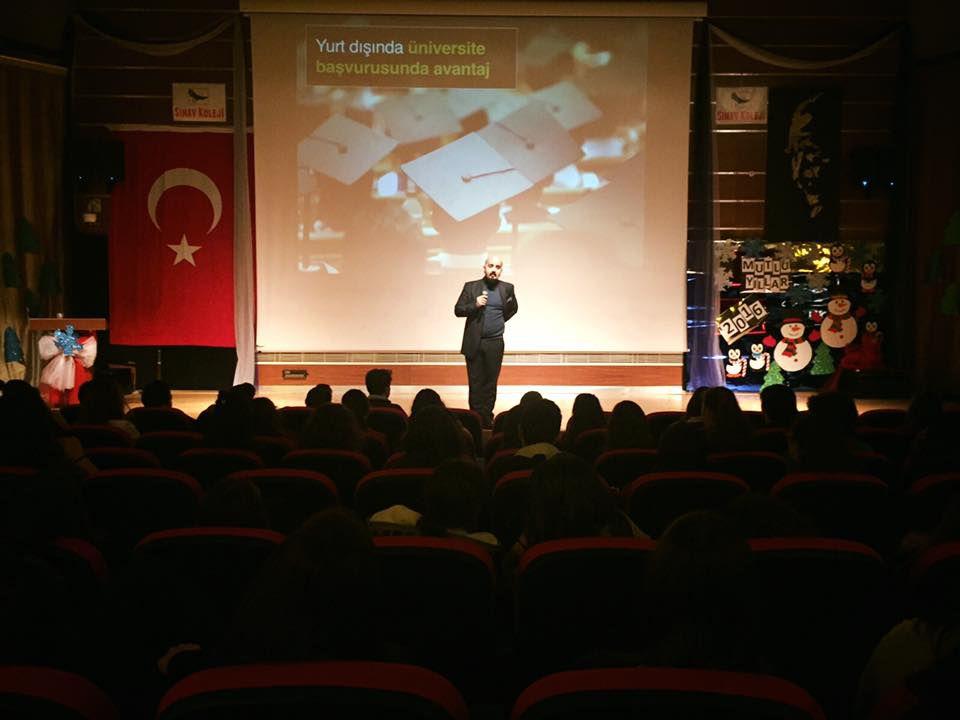 Sınav Koleji Ankara Merkez Şubesi'nde İnovatif bir Sunum Gerçekleştirildi