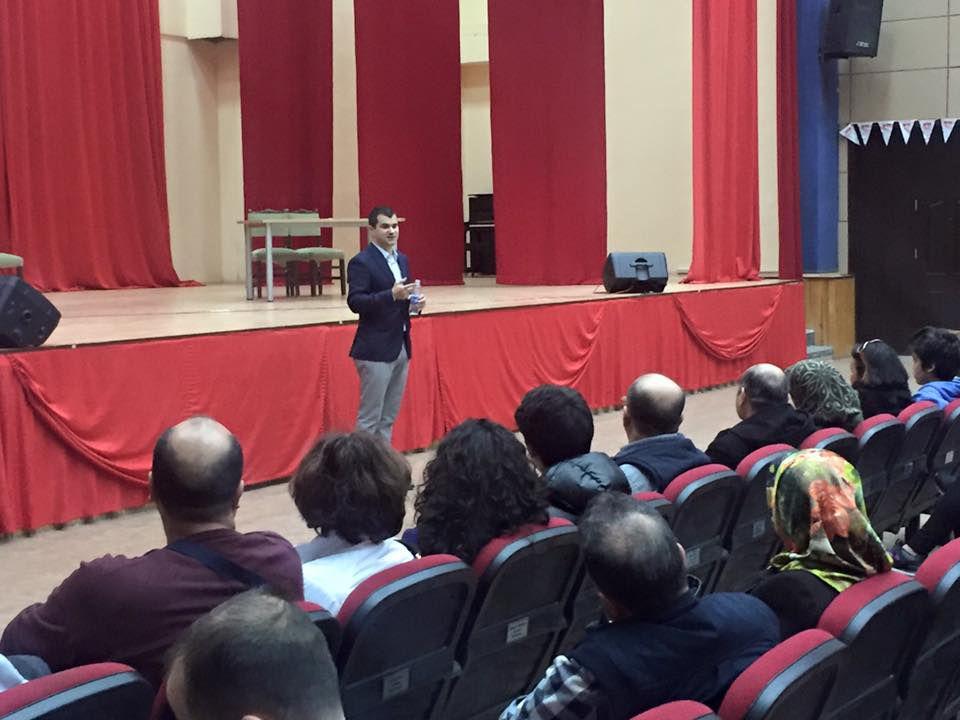 Haydarpaşa Lisesi Velileriyle Bilgilendirme Toplantısı Yapıldı