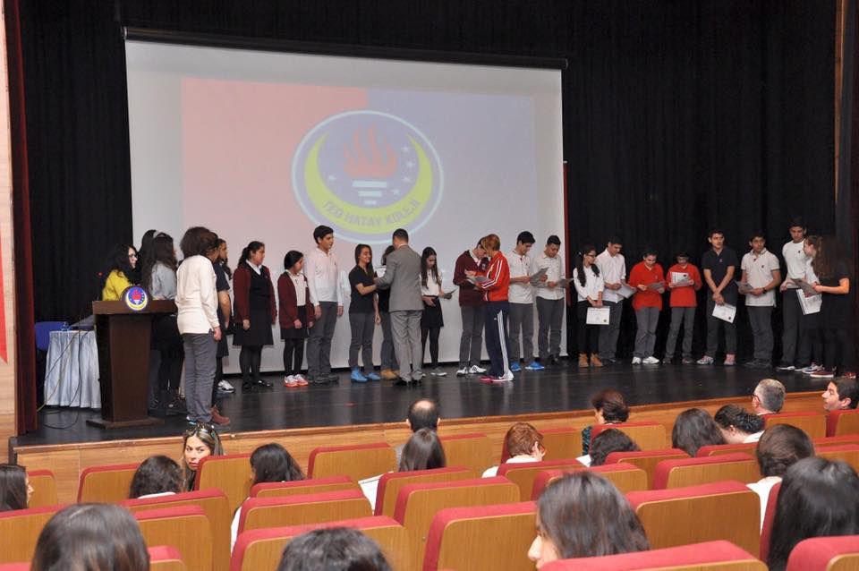 TED Hatay Koleji Uluslararası Ortaklık Programı Öğrenci Seçme ve Sertifika Teslim Töreni