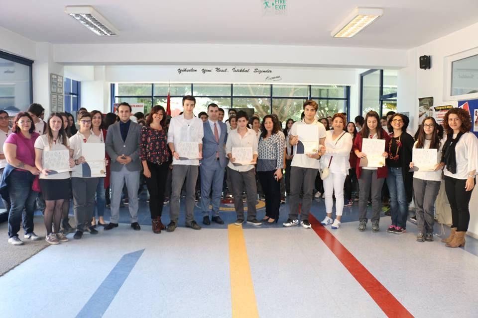 TED Ankara Koleji'nden Kanada'da Eğitim Alacak Öğrencilerin Sertifika Töreni