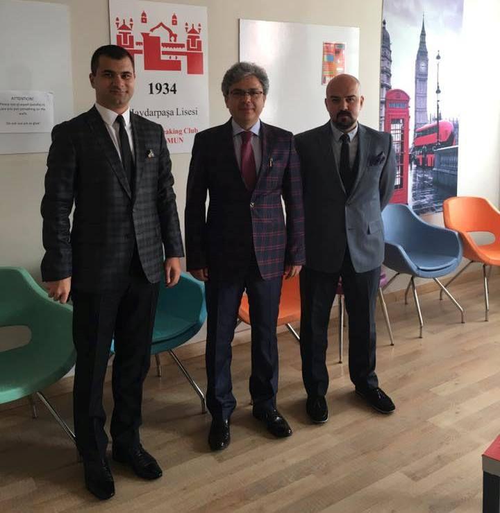 İstanbul Milli Eğitim Müdürü Sn. Ömer Faruk Yelkenci'ye Ziyaret