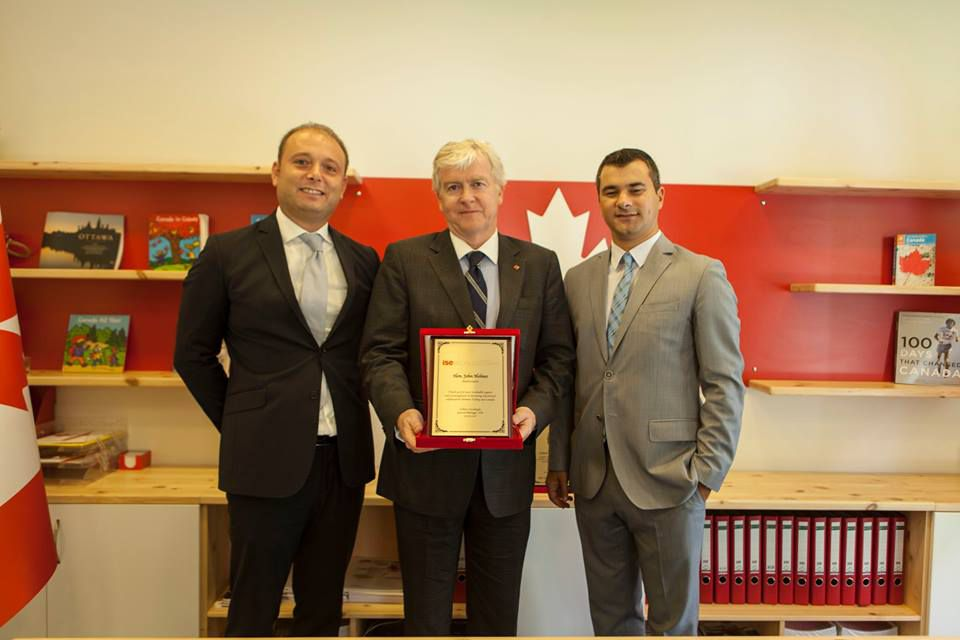 Kanada'nın Türkiye Büyükelçisi'nin ve İstanbul Başkonsolosu'nun Canada Okulları Ziyareti