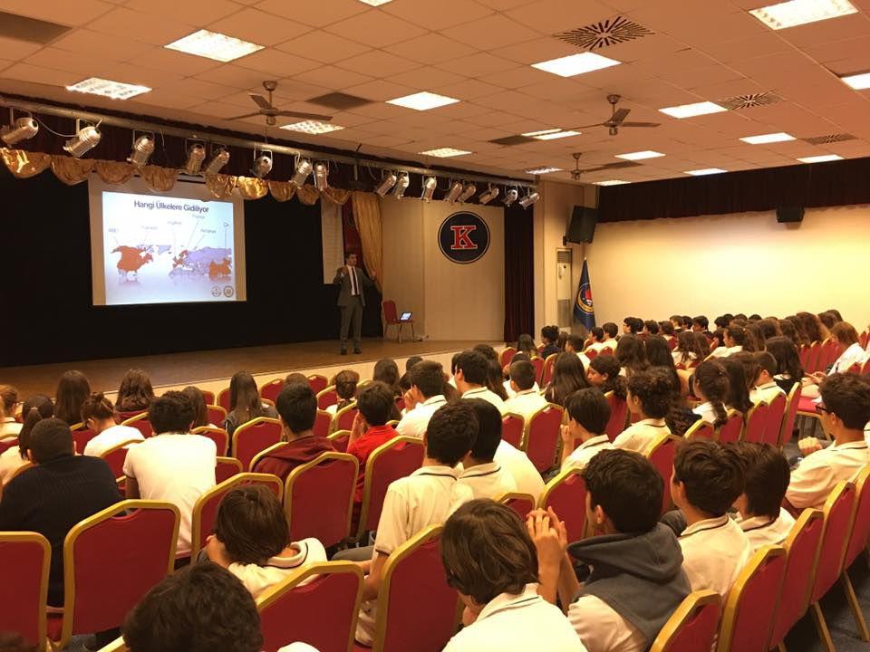 TED Antalya Koleji'nde Bilgilendirme Semineri