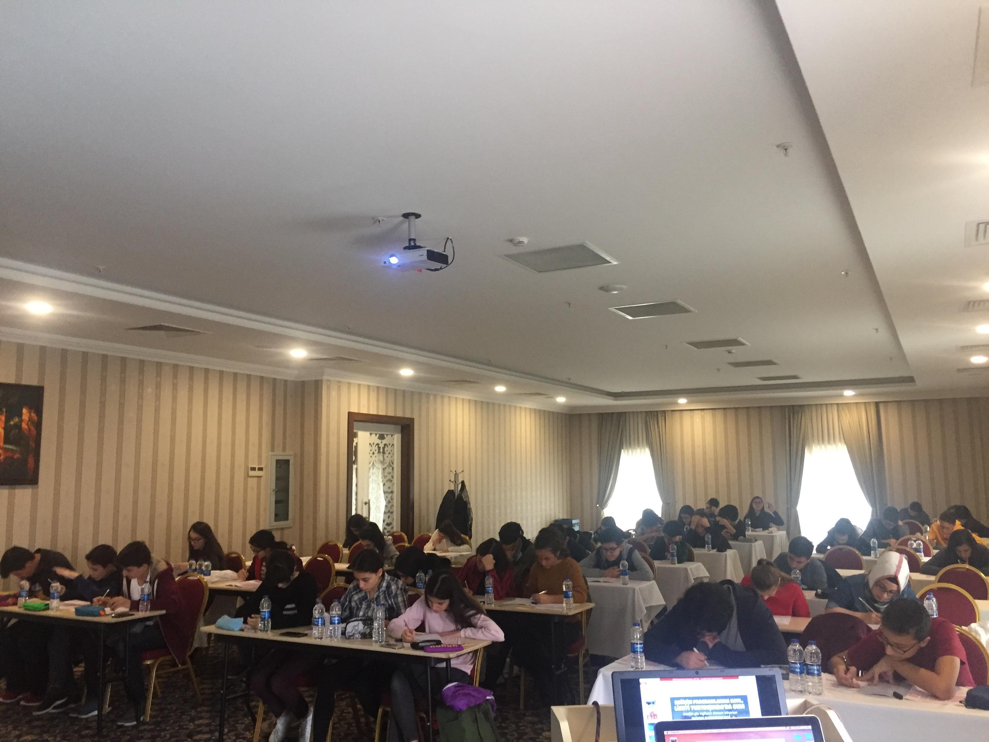 Yüzlerce Öğrenciye Ulaşan KUDEP Sınavımıza Katılım Devam Ediyor