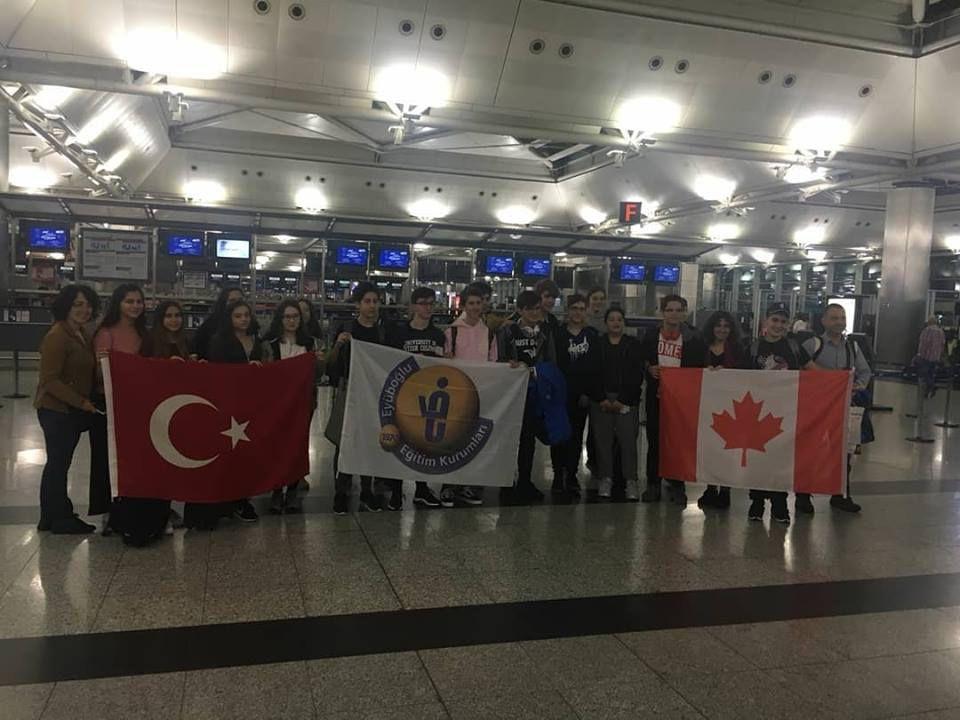Kültürlerarası Lise Değişim Programı'na katılacak öğrencilerimiz İstanbul'dan yola çıktı!
