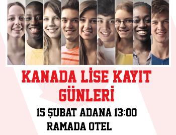 Adana - Kanada Lise Kayıt Günleri