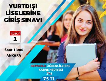 Ankara - Yurt Dışı Liselere Giriş Sınavı